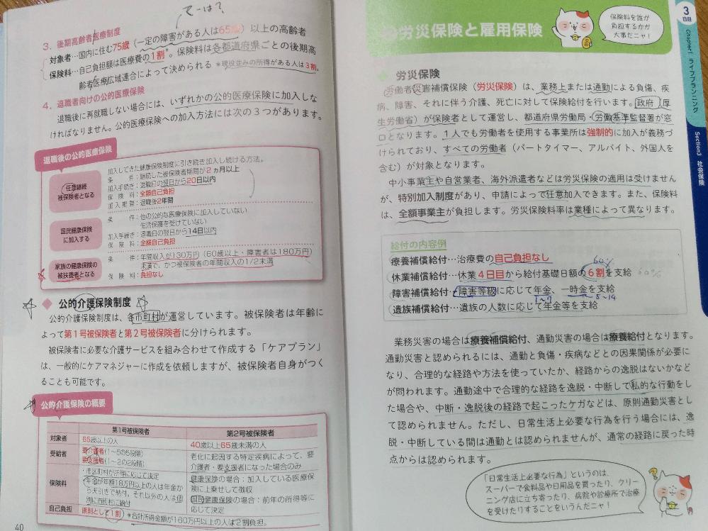 ユーキャンの基本テキストの内容1